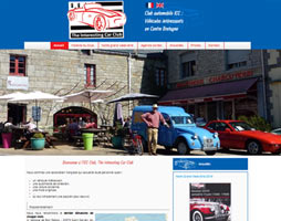 Site web association The Interesting Car Club ICC